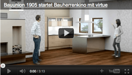 Bauherrenkino, youtube
