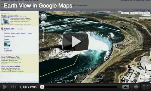 Endlich: Google Earth und Google Maps wachsen zusammen: 3D Ansichten on