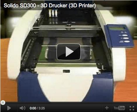 3D-Modelle aus dem Drucker, youtube