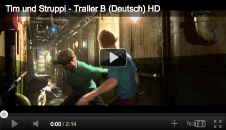 Tim und Struppi, youtube