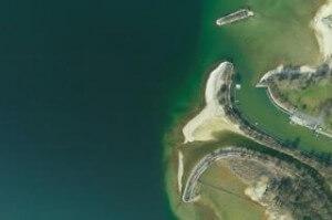 Der Bodensee von oben. Foto: © AHM AirborneHydroMapping GmbH