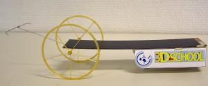 Mit einem Leichtbau-Solarwagen aus dem 3D-Drucker räumten die Schüler der Realschule Güglingen bei einem Wettbewerb der Experimenta in Heilbronn schon Preise ab. Foto: Glatter