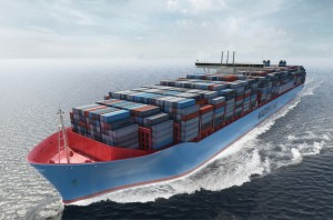 Containerschiff der Maersk Line. Foto: © Maersk Line.