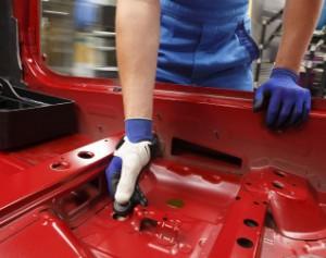 Die Orthese wird im 3D-Verfahren individuell angepasst. Copyright BMW AG, München (Deutschland)
