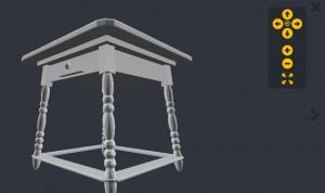 Screenshot Ansicht 3D-Modelle auf Yobi3D.com