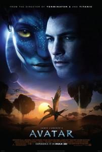 Das Avatar Filmplakat.
