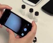 Mikroskop für Smartphones zum Selberdrucken