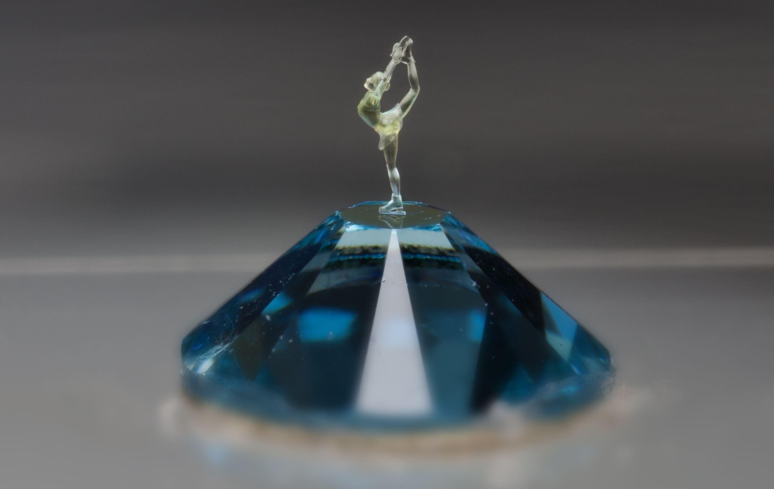 Kristall 3D-Figur