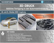 Fachkonferenz: 3D-Druck – Additive Fertigung in der Automobilindustrie
