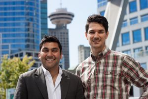 Founders of Wiivv Wearables Company