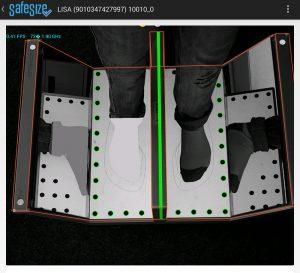 Screenshot der Scanning Software