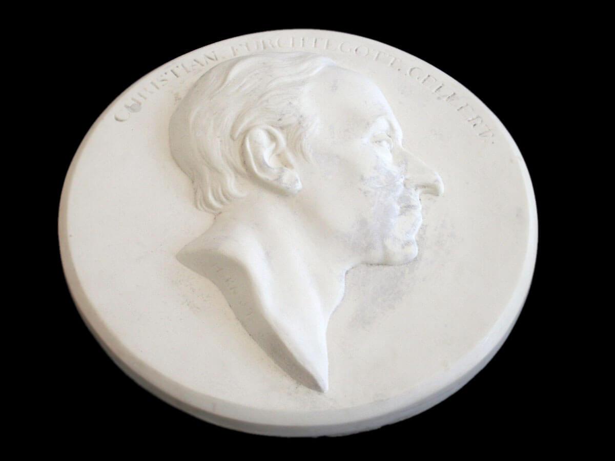 Originales Medaillon als Grundlage für das 3D Druck
