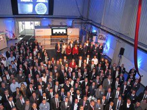 Eröffnung Produktionshalle. Bildquelle Premium Aerotec GmbH