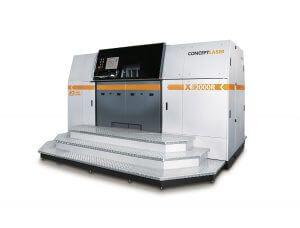 X line 2000R von Concept Laser mit Multilasertechnik und dem weltweit größten Bauraum (800 x 400 x 500 mm3) zur Verarbeitung von reaktiven Materialien wie Titan oder Titanlegierungen.