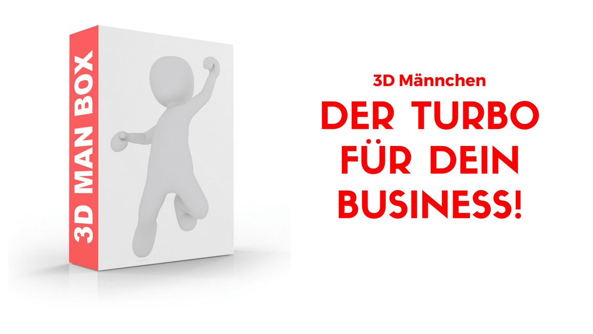 3D Man Box