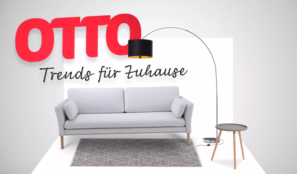 online m bel shopping otto setzt auf augmented reality. Black Bedroom Furniture Sets. Home Design Ideas